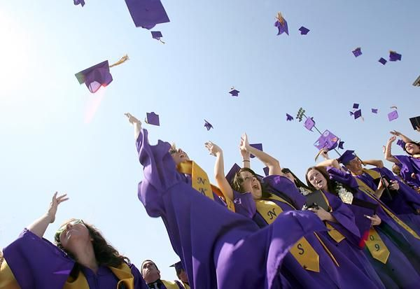 Graduating is a huge accomplishment that inspires hope for the future.