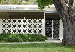 Image result for mid century concrete blocks for sale