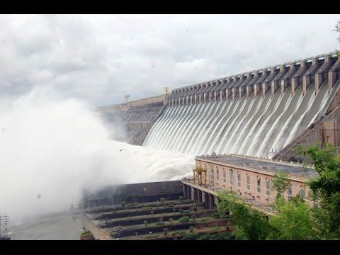 Nagarjuna Sagar dam brimming with inflows