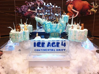 Buddy's Ice Age cake. One of the most amazing cakes he's made yet.