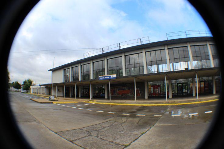 Estación Osorno. Actual Museo. Chile. Febrero 2014.