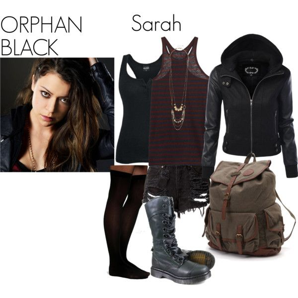 """Orphan Black- Sarah Manning"" by nchavez113 on Polyvore"