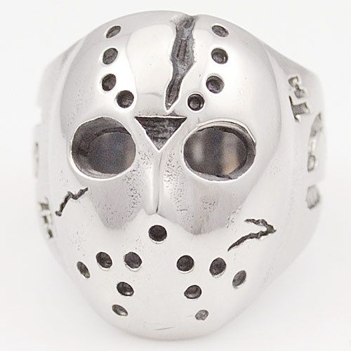 13 Friday Jason Mask Horror Ring //Price: $9.99 & FREE Shipping //     #skull #skullinspiration #skullobsession #skulls