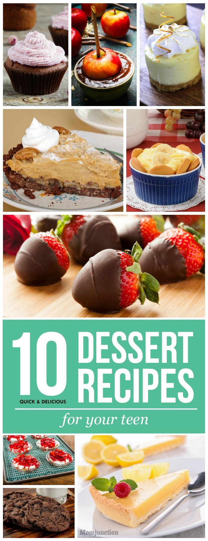 396 best teen topics images on pinterest creative for Quick easy healthy dessert recipes