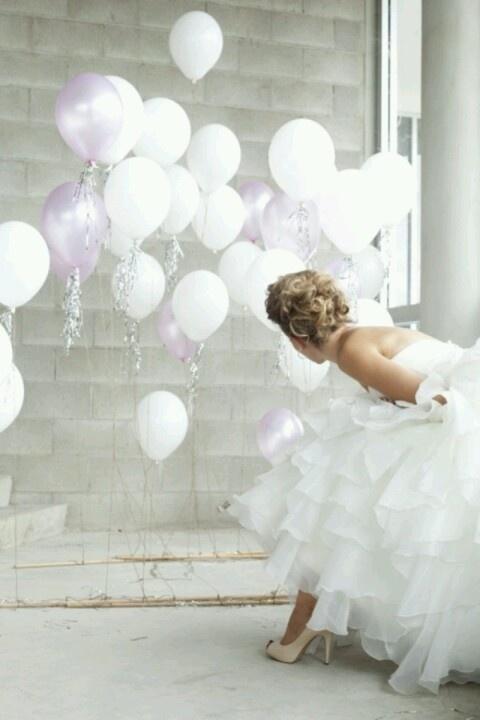 Balonnen aan lat