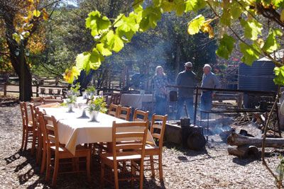 Megalong Australia Heritage Centre... Function in Alfreso Area Megalong Valley Farm