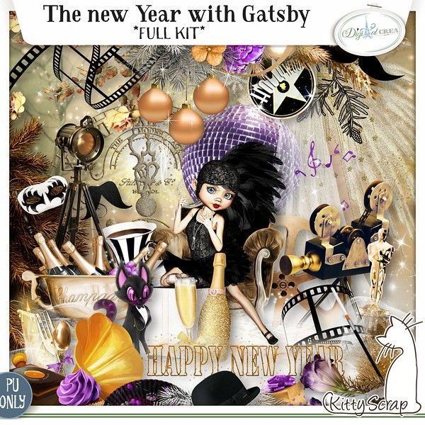 kit the new year with gatsby de kittyscrap Egalement disponible dans les boutiques suivantes: http://www.digiscrapbooking.ch/shop/index.php?main_page=index&manufacturers_id=139 http://scrapfromfrance.fr/shop/index.php?main_page=index&manufacturers_id=19