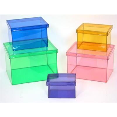 5 scatole rettangolari colorate - Ordinet - Montemaggi - Distribuzione Oggettistica Online, Ingrosso, Dettaglio