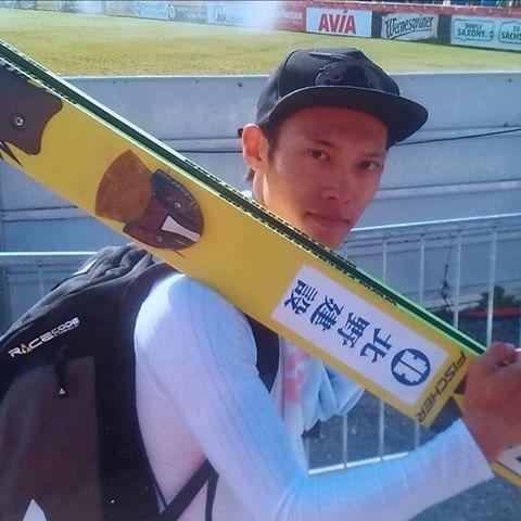 Taku Takeuchi, SGP Klingenthal 2014. ©ME Thanks for this one! :-) @taqtakeuchi  #skijumping #skijumper #skispringer #skispringen #takutakeuchi #teamjapan #klingenthal #fun
