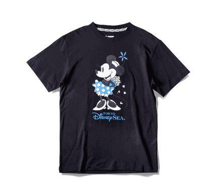 TDS限定 XLARGE コラボ Tシャツ ミニー ポップコーン 黒