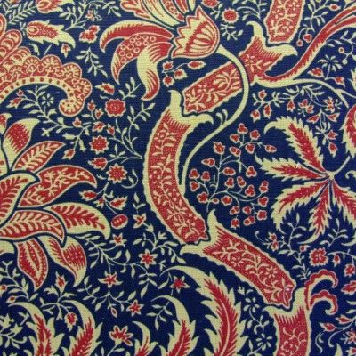 Morris Indian Fabric DMCOIN201 Designer Fabrics and Wallpapers by Sanderson, Harlequin, Morris, Osborne, Little And many more