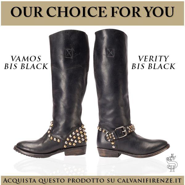 Non puoi resistere al fascino delle #borchie? Scegli gli #stivali di #Ash Vamos e Verity!