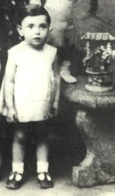 Rebecca Jakubovitch sadly murdered in the gas chamber in Auschwitz on August 19, 1942 at age 6. ~ Adorable photo of little Rebecca (Becky) age 4 years taken in 1940~