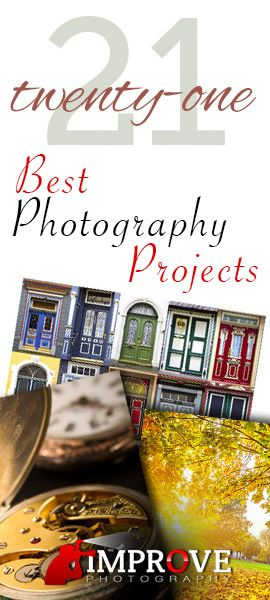 21 Best Photography Projects You Can Start and Finish in a Single Day