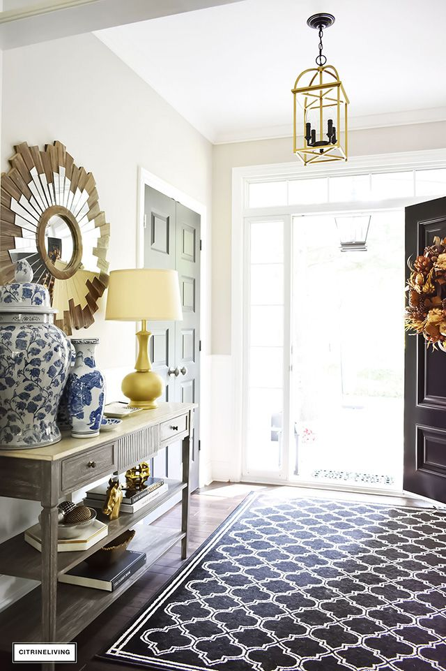 front entryway decorating ideas for every season decor and diy rh pinterest com