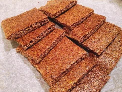 Ekspresowy chleb z siemienia lnianego