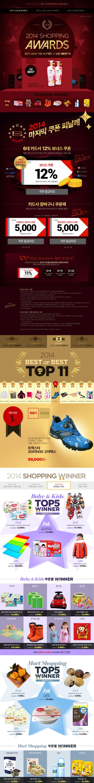 2014' Shopping AWARD...