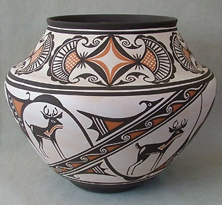 Maria Martinez Pottery, Western Art Collector