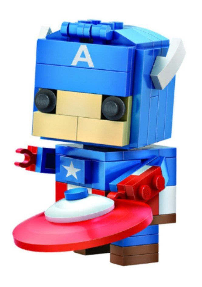 New 2016 LOZ Mini Blocks The Avengers Captain America
