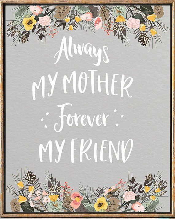 Mother's Day Print Happy Mother's Day Print Gifts #Mother's_day #Mother's_day_card #Mother's_day_print