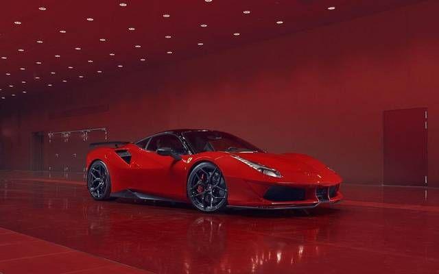 20 نسخة فقط من سيارة فيراري المعدلة إف بلس كورسا خضعت سيارة فيراري جي تي بي 488 لحزمة تعديلات من شركة بوجيا ريسينج ا Car Red Car Car Wallpapers