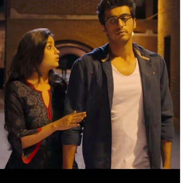 Alia Bhatt in Black Chikan Kurta in 2 States Movie