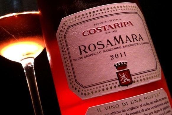 Vinho para Todos: Um rosé de tirar o chapéu: Costaripa Rosamara Chiaretto DOC 2011