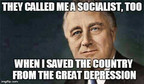 Bernie Sanders is a Democratic Socialist...and he can save this country from the Wall St. bankers, Big Oil Welfare Queens and the Boils on the Ass of Society,Koch Brothers...and he's the ONLY one even willing to try !!!