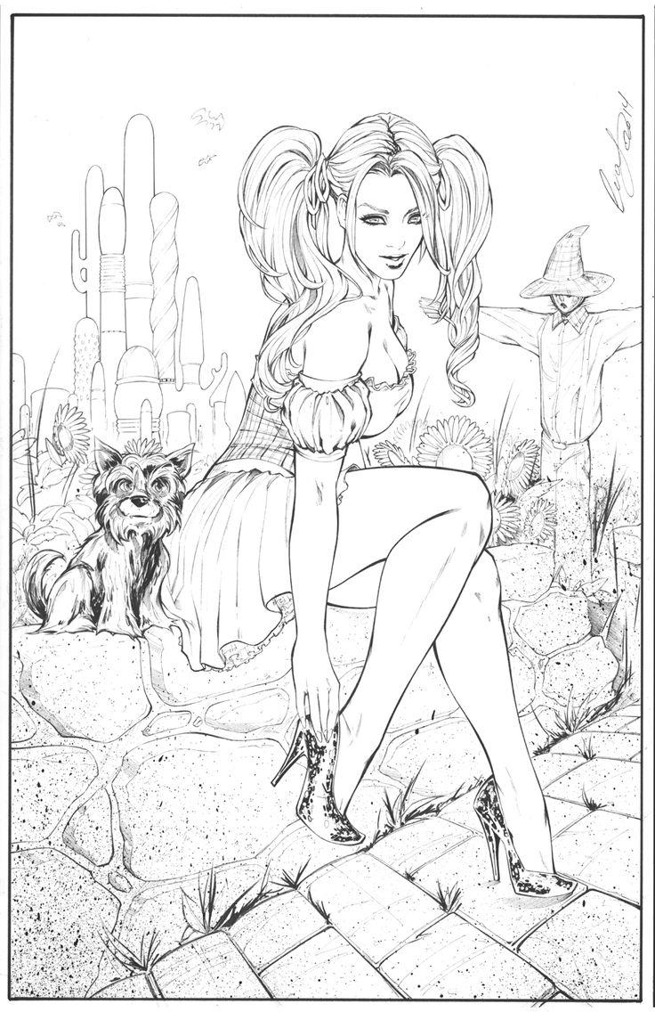 Dorothy of Oz by Elias-Chatzoudis.deviantart.com on @DeviantArt