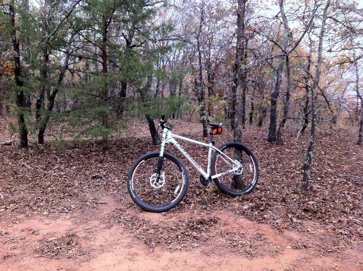 This is my new Cannondale mountain bike