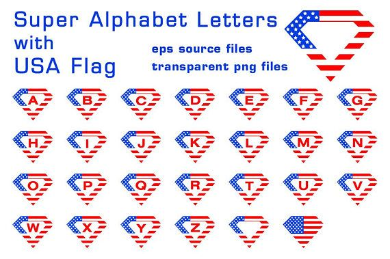 All alphabet letters (except S letter) are available as transparent png files and eps vector files 5421x5421 pixels  These are perfect for printing on t-shirts.