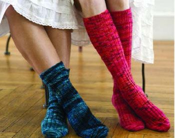 Free Knitting Patterns For Socks On Circular Needles : 1000+ ideas about Knit Sock Pattern on Pinterest Sock knitting, How to knit...