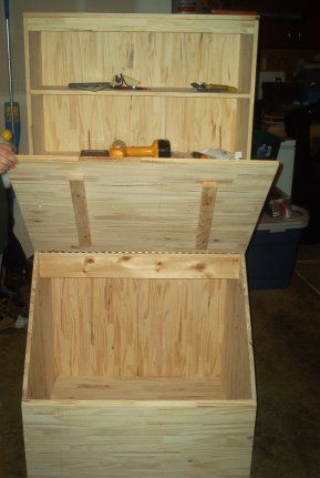 toy box bookshelf plans - Google Search