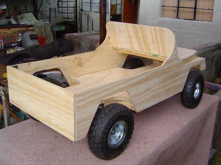Las 25 mejores ideas sobre coches de pedal en pinterest for Medidas de un carro arquitectura