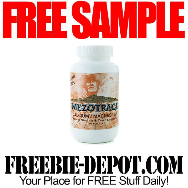 ►► FREE SAMPLE - Mezotrace Calcium/Magnesium Tablets ►► #Free, #FREESample, #FREEStuff, #Freebie ►► Freebie-Depot