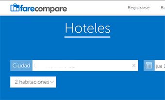 Farecompare: hoteles baratos