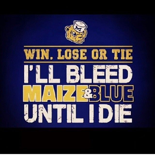 It's ALWAYS great to be a Michigan Wolverine even when we lose we're still better than you!!! It's always funny to see who's rooting again us and it's usually folks with no degree at all! I guess I'd hate on the leaders and best if I were them too. #GOBLUE