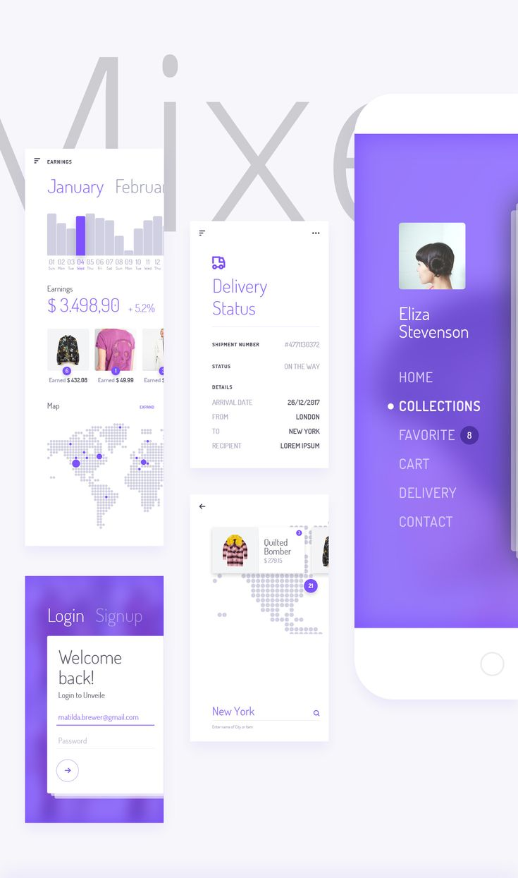 Unveile iOS UI Kit on Behance