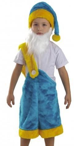 Детский костюм гнома на новый год