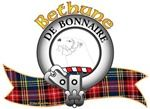 """Bethune Clan Crest """"An otter's head erased Argent"""". Bethune Clan Motto is """"De bonnaire"""", translated as """"Gracious"""". MacRory Mor"""
