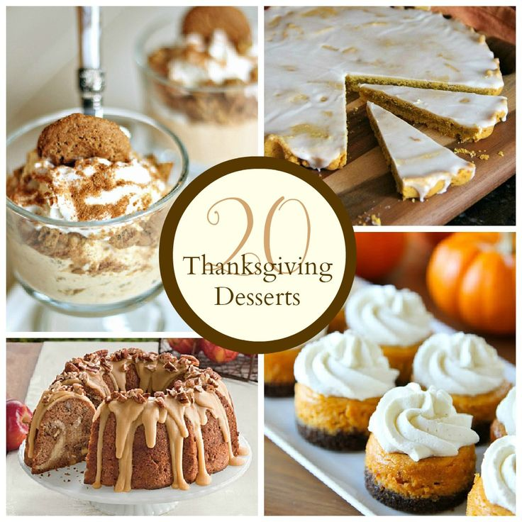 The Crafted Sparrow: Thanksgiving Desserts