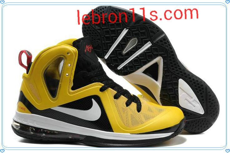 Hot 2015 Nike Lebron 9 PS 516958 700 Elite Varsity Maize Black W
