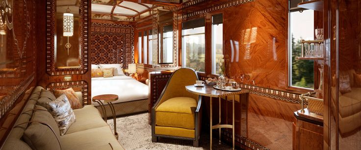 Journey across Europe on the Venice Simplon-Orient-Express; travel at its most glamorous. Sink into indulgence in your private cabin aboard this luxury train.