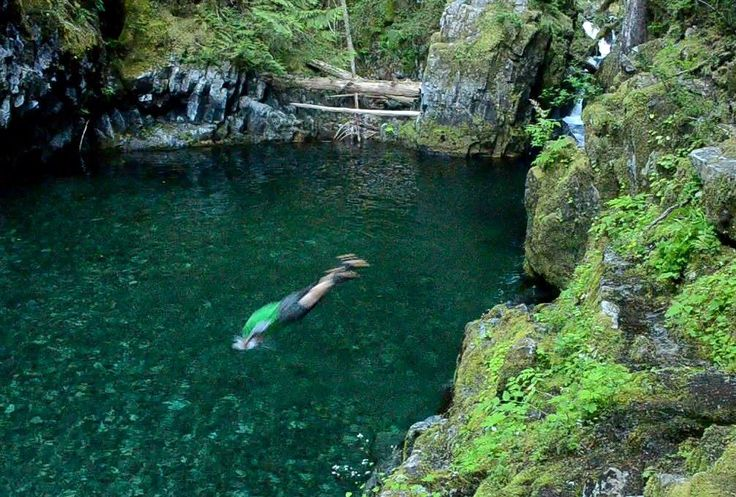 Opal Creek, Oregon ~ swimming holes