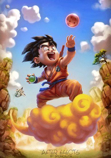 son_goku - stock: http://www.deviantart.com/art/Son-Goku-427086264