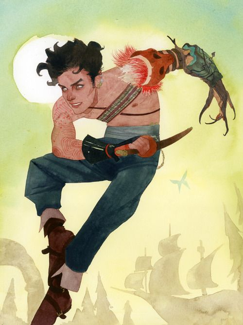 Peter Pan Re-imagining of the primo lost boy by Kevin Wada