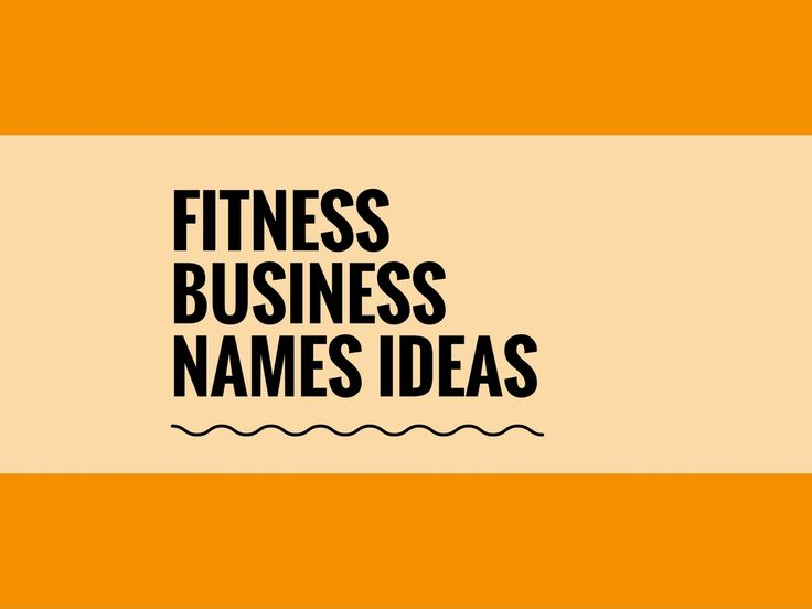 A Creative name is the most important thing of marketing. Check here creative, best Fitness Business names ideas for your inspiration.