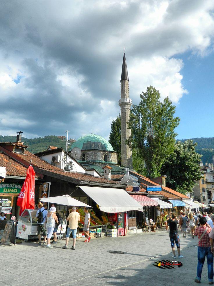Bascarsija, Sarajevo, Bosnia and Herzegovina, Nikon Coolpix L310, 5.6mm, 1/800s, ISO 80, f/3.2, +0.7ev, HDR-Art photography, 201607101626
