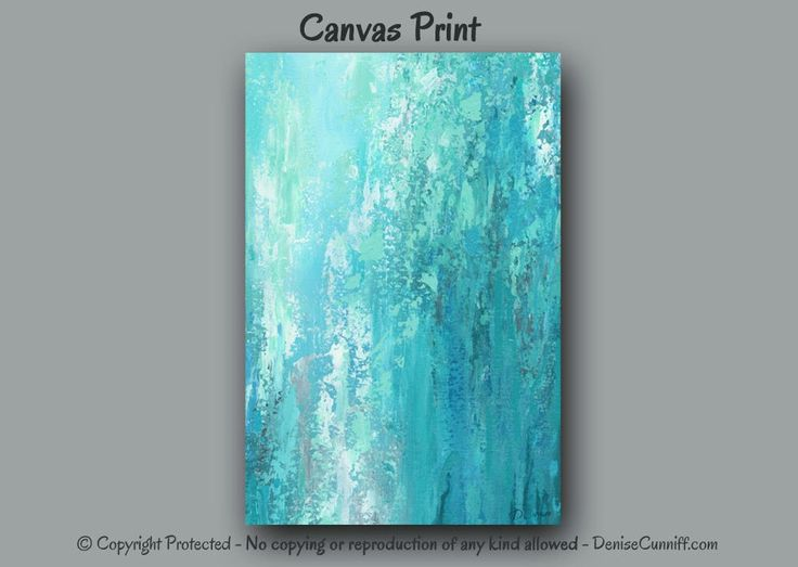 Large wall art, Turquoise grey home decor, Teal bedroom, Canvas print of Abstract painting, Office wall decor, Living Room, Foyer, Artwork by ArtFromDenise on Etsy https://www.etsy.com/listing/222082719/large-wall-art-turquoise-grey-home-decor