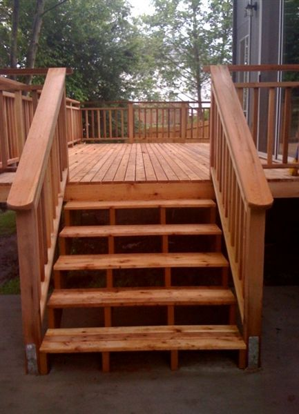 decks on pinterest wood deck designs deck stair railing and deck